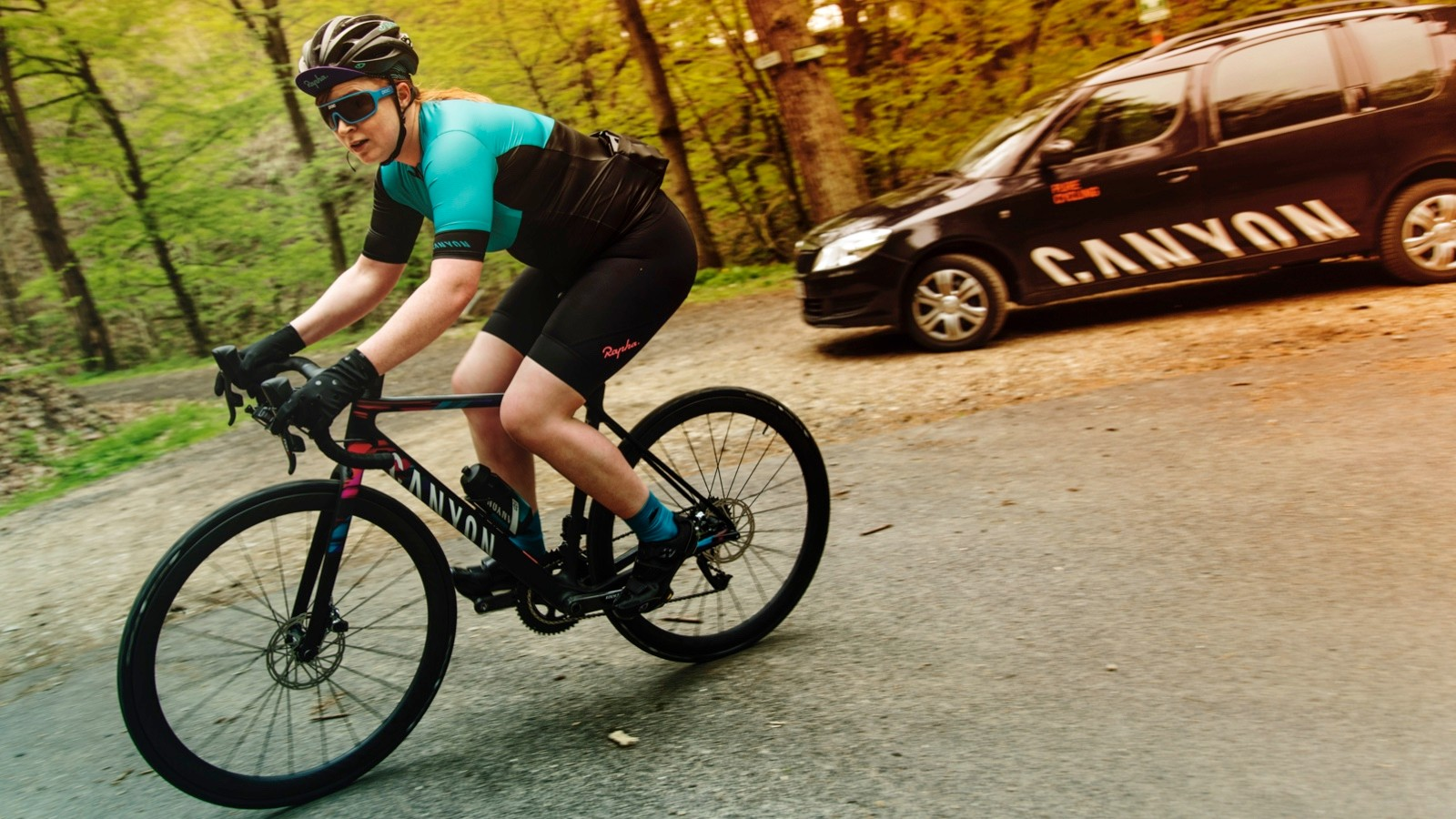 Introducing the newly women's specific Ultimate WMN from Canyon