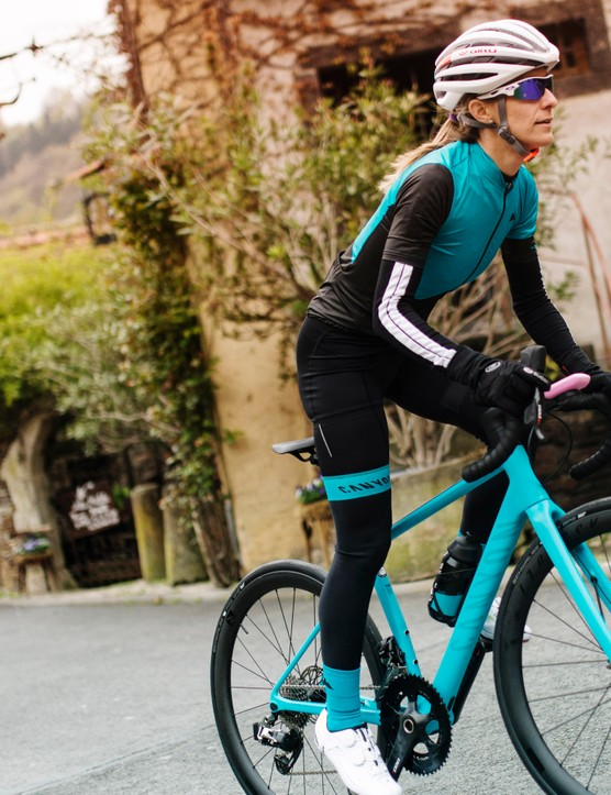 The new women's specific Endurace WMN CF