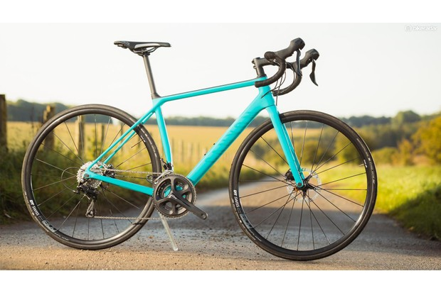 The new Canyon Endurace WMN features women's specific geometry