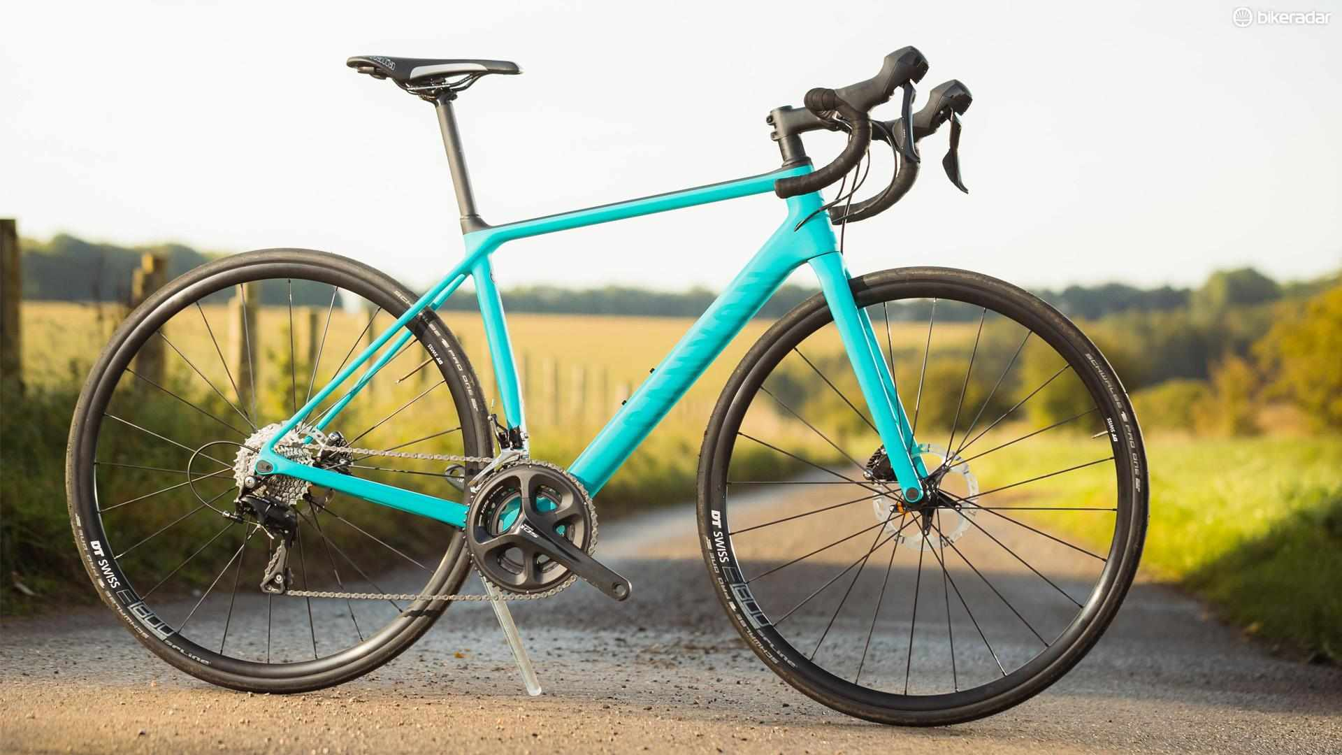 The all-new Canyon Endurace WMN features women's specific geometry