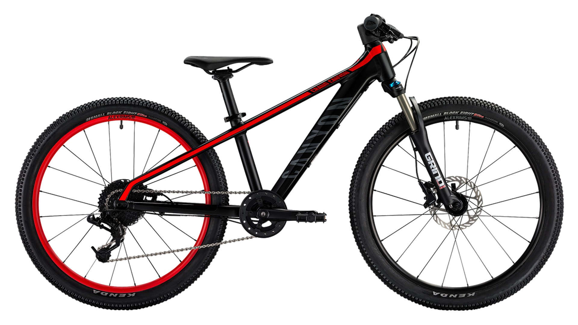 The youth version of the Grand Canyon is a competent hardtail that's perfect for kids