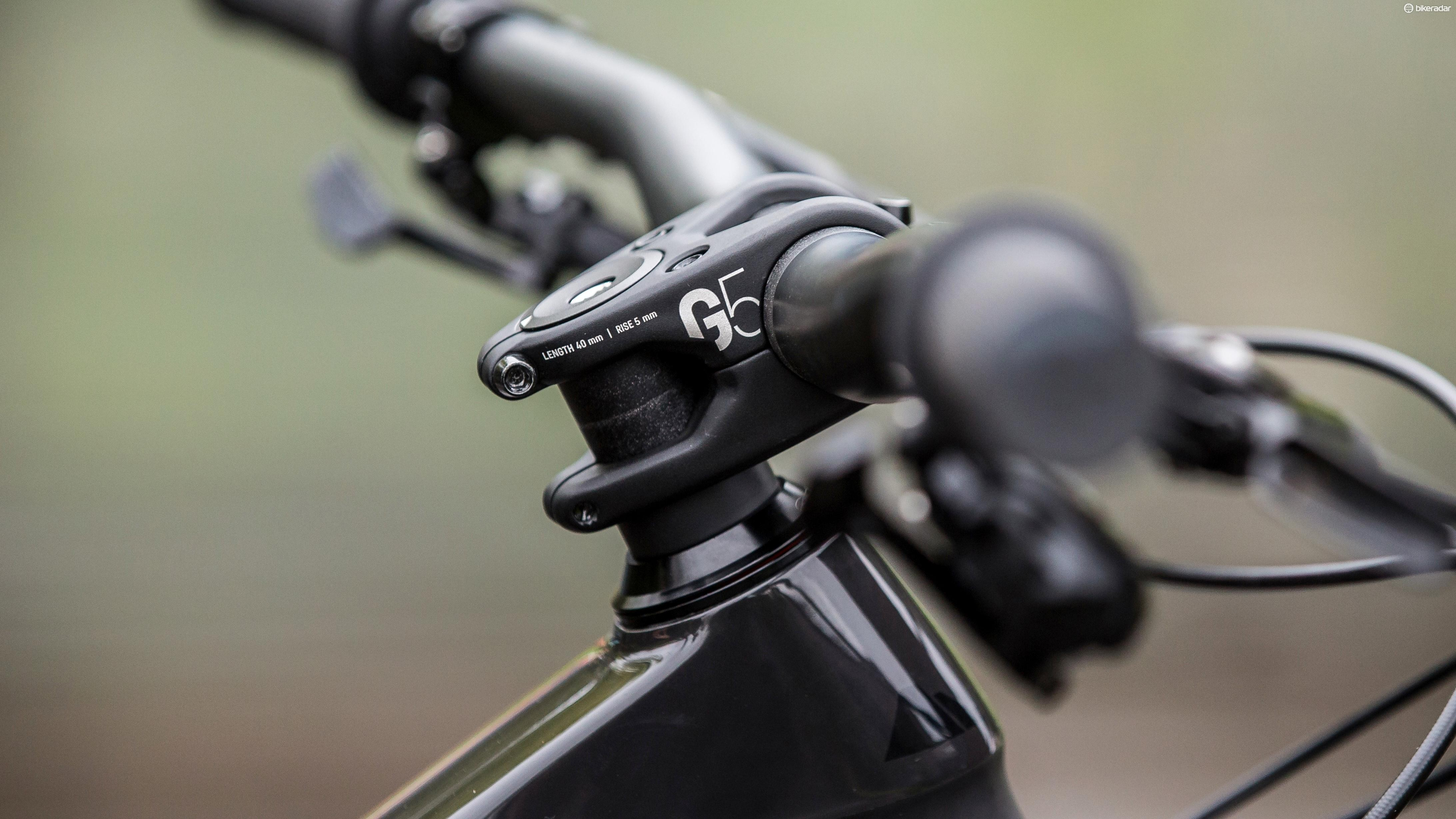 Canyon's new G5 line of components is there to allow the German bike builder to control quality and performance