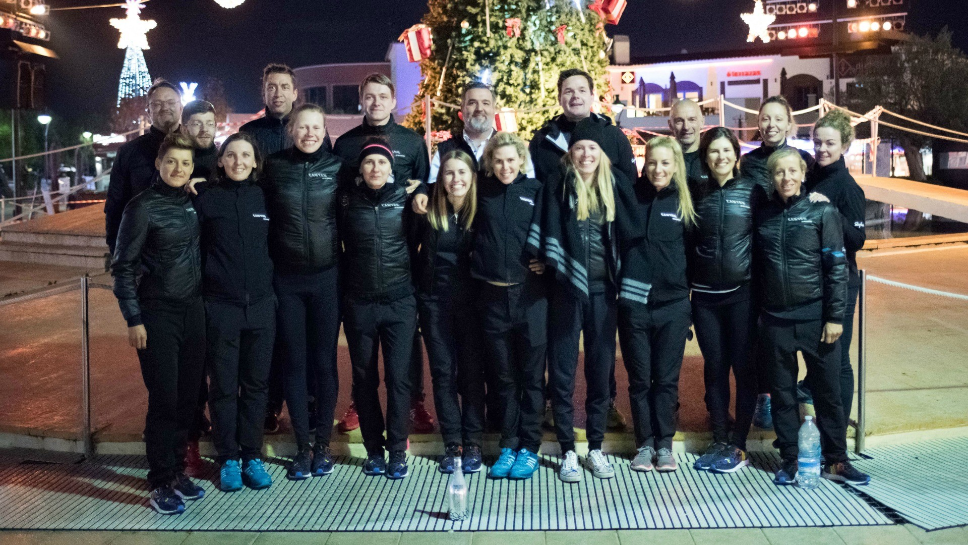 The finalists joined Canyon//SRAM team at their training amp in Majorca