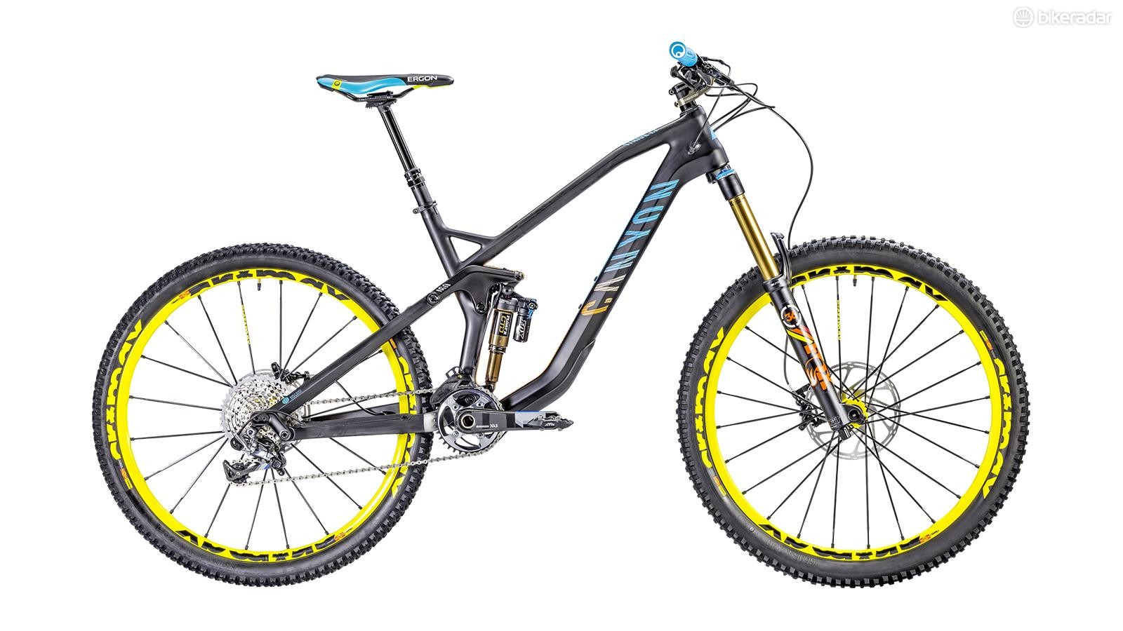 This year's most wanted enduro bike: the Canyon Strive