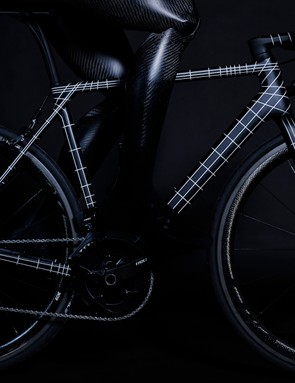 The Ultimate CF SLX Kraftwerk features flagship componentry from SRAM and Zipp