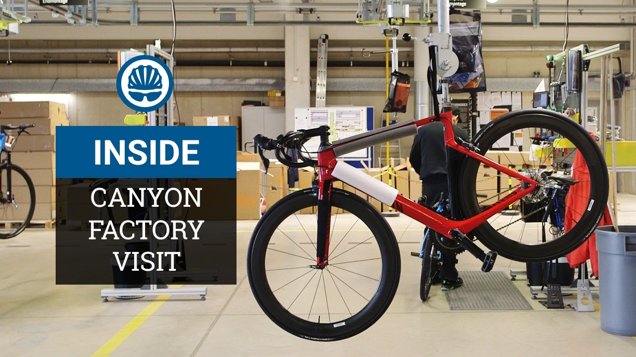 Canyon's approach to bicycle development is impressive