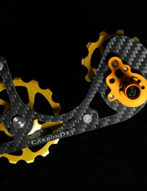 Carbondry offers a friction-reducing upgrade cage for Shimano, SRAM and Campy