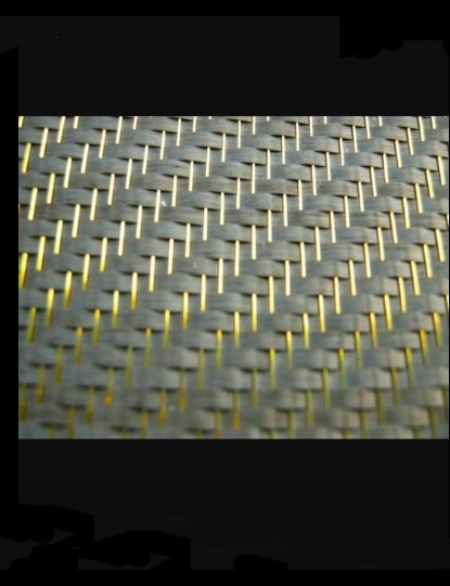 Carbotanium is, as the name implies, a carbon-titanium weave