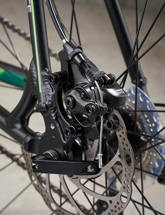 Cable disc brakes are the big all-weather control win
