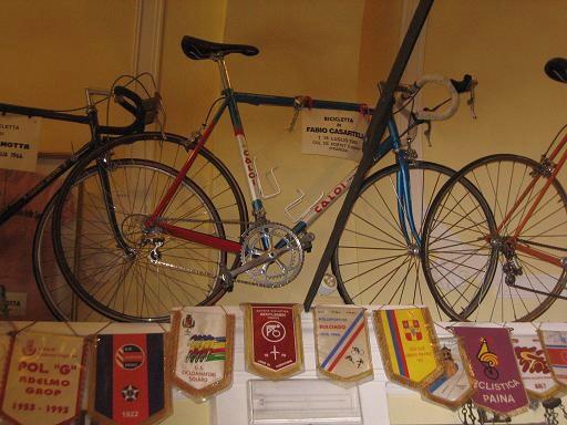 Fabio Casartelli's Motorola bike.
