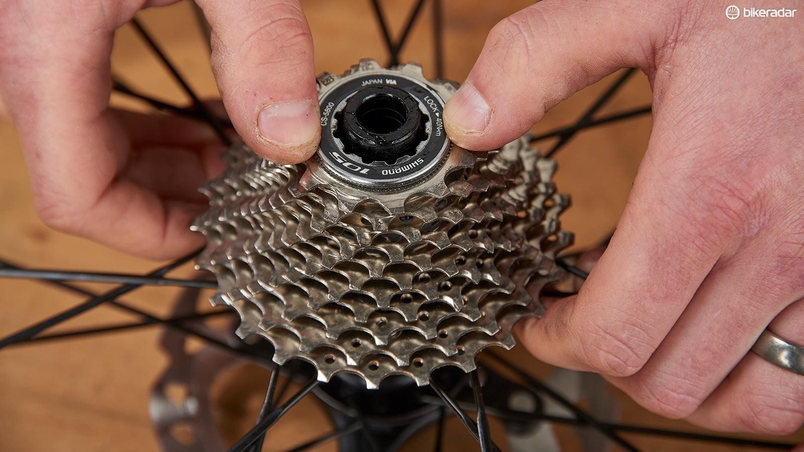 Fitting a lighter cassette is okay, but fitting an 'easier' one? Not so okay…