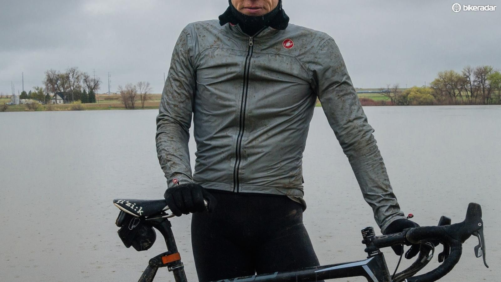 A waterproof jacket's Durable Water Resistant (DWR) coating can wear out over time, which means the fabric will eventually 'wet out'