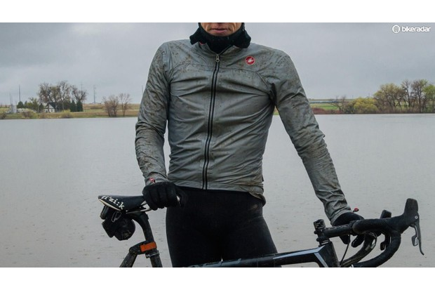 Stay dry in the rain with a waterproof (ideally breathable) jacket