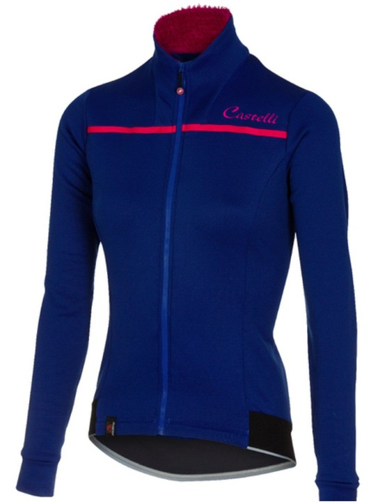Keep warm when the temperature drops with this cosy performance jersey from Castelli