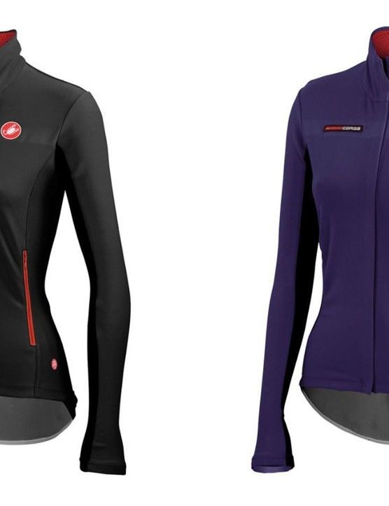 The women's Gabba jacket from Castelli – pretty much ideal for spring in the UK