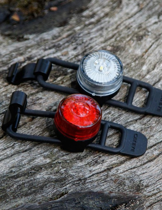 CatEye's Loop 2 front and rear lights are low cost, basic and super easy to use