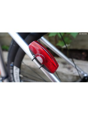Cateye's Rapid X lights offer a sleek, low-profile design that works well with modern bikes