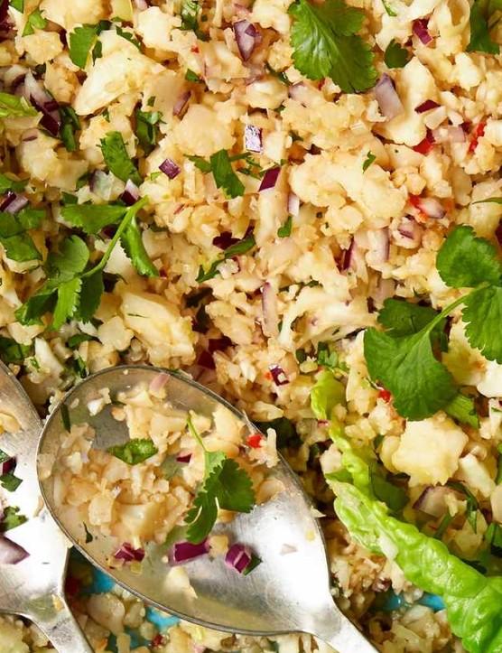 A tasty veggie or vegan salad