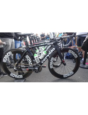 Dimension Data's Mark Cavendish used his Cervelo S5 to grand effect, winning the opening stage of the 2016 Tour de France and taking the first yellow jersey of the race