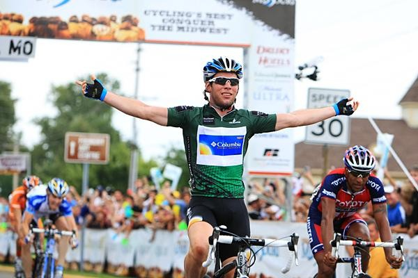 Mark Cavendish bagged his third victory in Missouri Saturday.