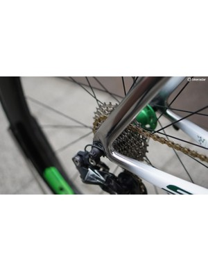 Could you make the Di2 wire port less obstrusive? It would be difficult