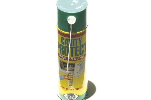 Cavity Protect enables you to treat your bike very quickly.