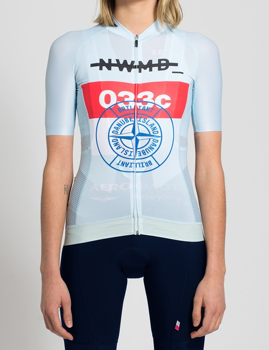 The Danube Island jersey from the front