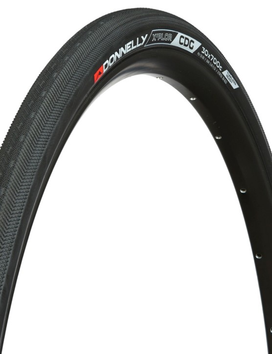 The new CDG is a 30mm tubeless tire named for Charles de Gaulle in reference to Paris-Roubaix