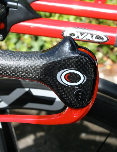 Oval A900 Carbon Upgrade brake levers  have as small a frontal area as possible.