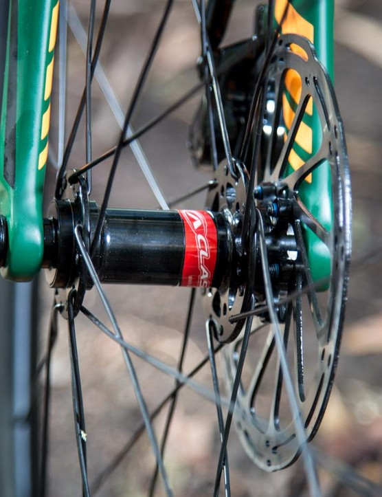 AClass is the complete wheel division of Alex Rims, and the tubeless ready CXD4 wheels are a great specing choice because of their durability and performance