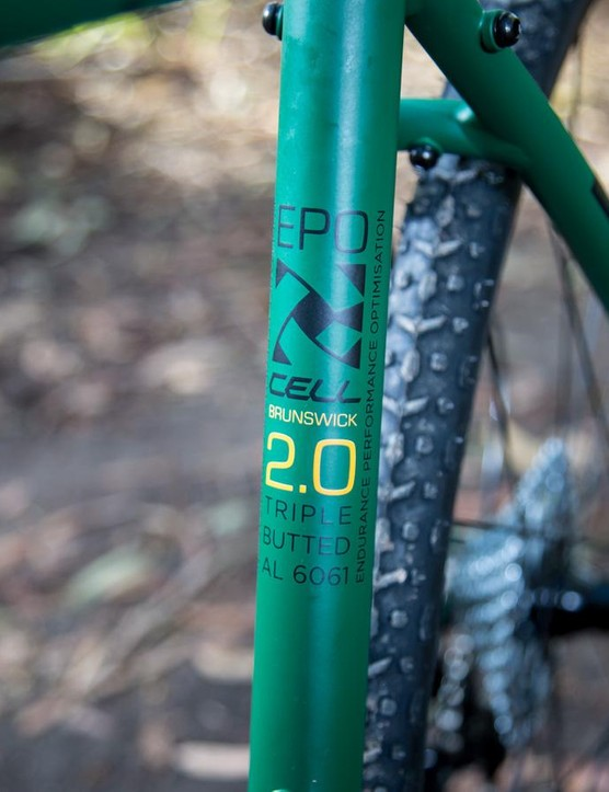 Clearly, the design team at Cell Bikes has quite a sense of humor with the EPO (Endurance Performance Optimisation) Geometry