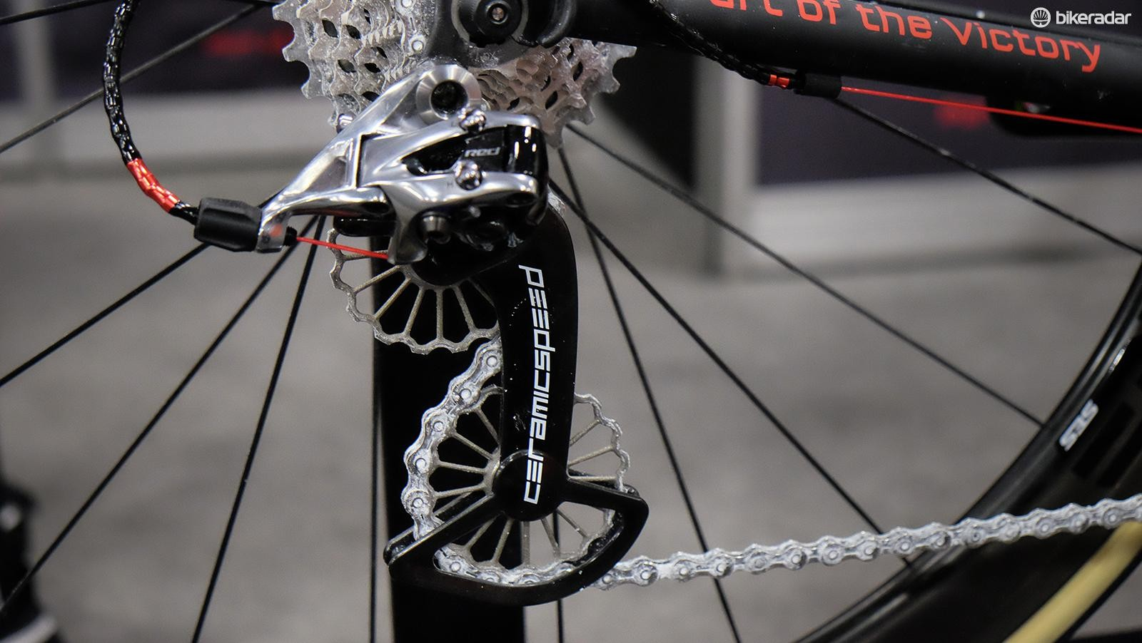 CeramicSpeed's new 3D printed titanium jockey wheels