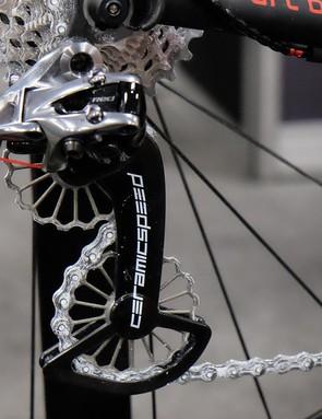 CeramicSpeed's new 3D printed titanium jockey wheels