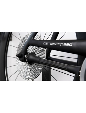 The DriveEn system works with a carbon drive shaft instead of a chain