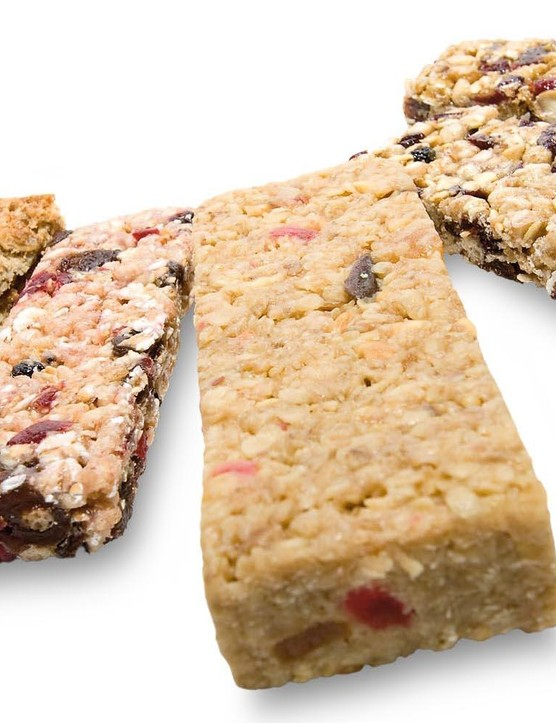 Good-quality cereal bars make excellent snacks so you don't go hungry between meals