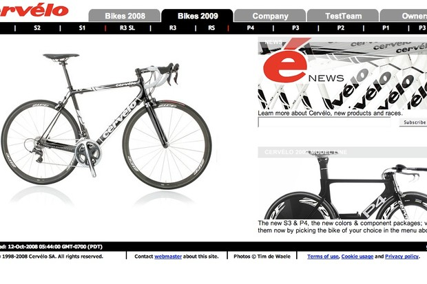The Cervelo TestTeam is taking root for 2009.