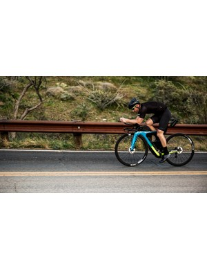 The new Cervelo P3X in action