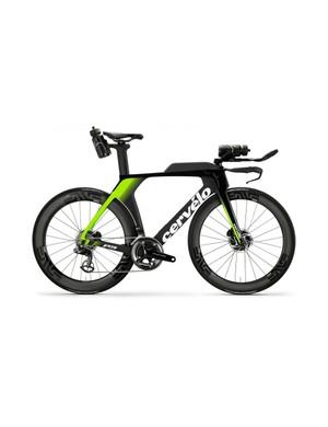 Cervélo's latest P5 time trial and triathlon bike