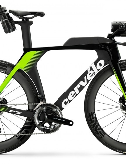Cervélo's latest P5 time trial and triathlon bike