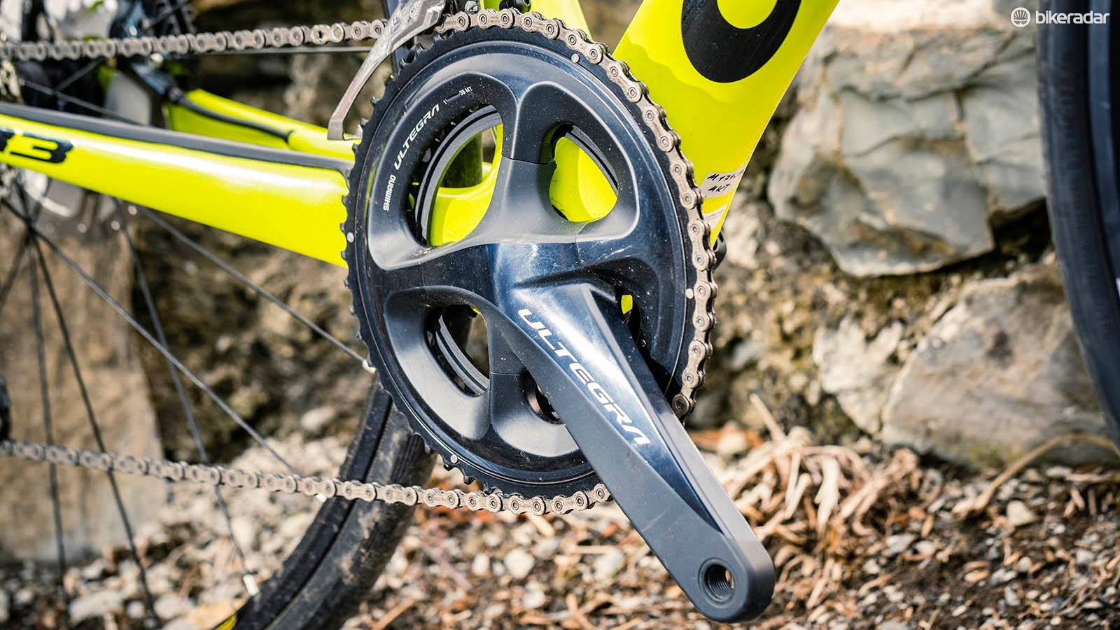 It's tough to find any fault in the new Ultegra drivetrain