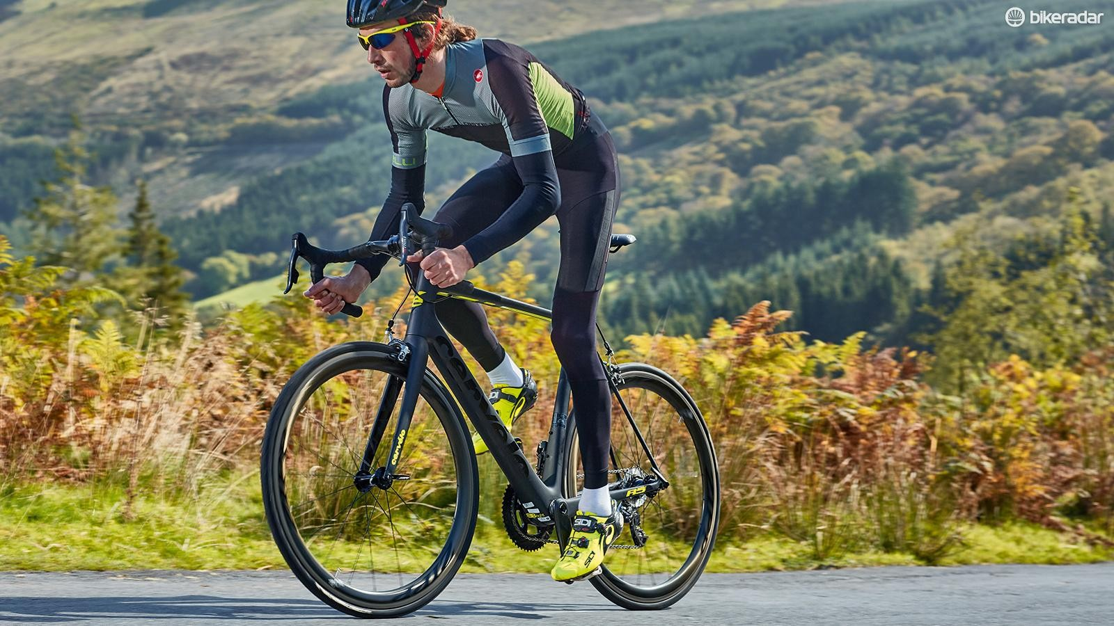Standing out of the saddle and stomping on the pedals is met with stunning acceleration