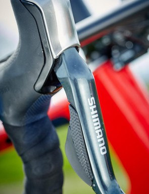 It will only be your nerve holding you back thanks to the great control from the Shimano brakes