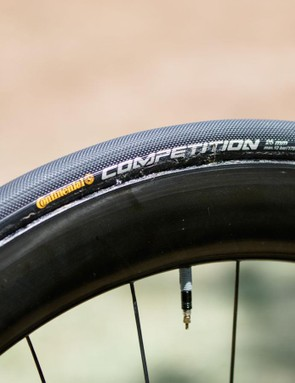The Dimension Data team used 25c Continental Competition tubulars at the Tour Down Under