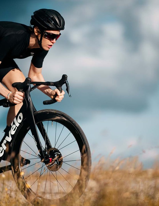 The new S5 Disc certainly looks different to your average road machine