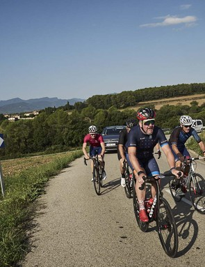 Our test rides took in the mixed terrain of Catalonia