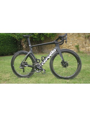 The S5 certainly looks different to your average road bike