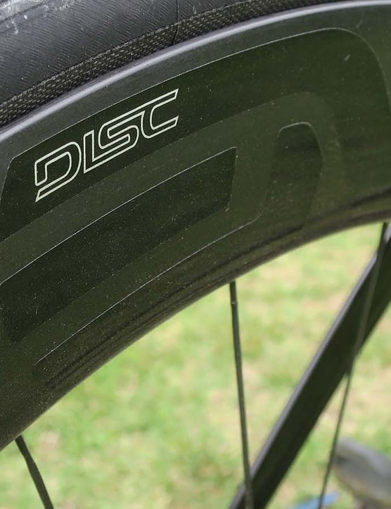 Enve provides its deep-section 5.6 wheels on the range-topping S5