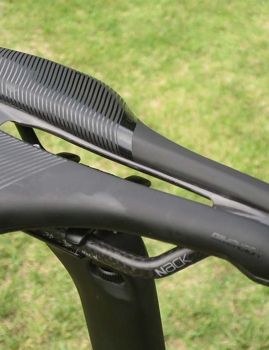 Prologo's Dimension with Nack carbon rails adorns the S5