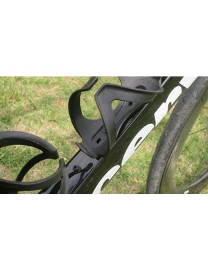 The S5 has multiple attachment points for the down-tube bottle-cage