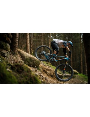The Vitus Escarpe is ready to ride the trails